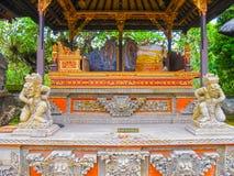 Batuan Indonezja, Grudzień, - 28, 2008: Puseh świątynia, Bali Obraz Stock