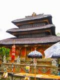 Batuan Indonezja, Grudzień, - 28, 2008: Puseh świątynia, Bali Fotografia Royalty Free