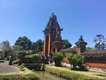 Batuan tempel i Bali Royaltyfri Fotografi