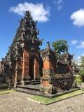 Batuan tempel i Bali Arkivbilder