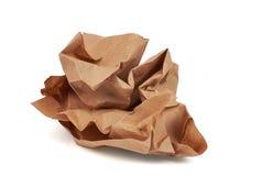 Batuffolo di carta riciclato Immagine Stock