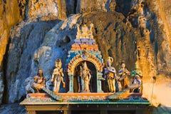 batugrottaKuala Lumpur malaysia staty Royaltyfri Foto