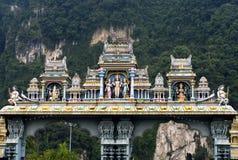 batugrottaKuala Lumpur tempel Arkivbild