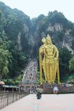 batugrottor Kuala Lumpur malaysia nära till Royaltyfri Bild