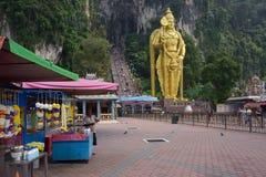 batugrottor Kuala Lumpur malaysia nära till Arkivbild