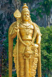batugrottor Kuala Lumpur malaysia nära till murugan staty för lord Royaltyfria Foton