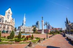 31 03 2018 Batumi, Γεωργία - το ευρωπαϊκό τετράγωνο, στο κέντρο Στοκ Εικόνες