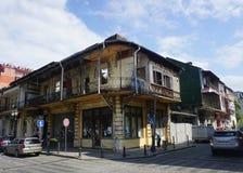 Batumi Abandoned Building stock images