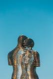 Batumi, Adjara, Geórgia Escultura movente do metal criada por Geórgia Fotografia de Stock