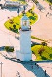 Batumi, Adjara, Georgia Ansicht alten Pitsunda-Leuchtturmes im Wunder-Park Stockfotos