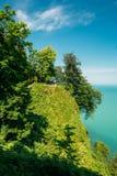 Batumi, Adjara Georgia. Beautiful Scenic Summer View Of Botanica Royalty Free Stock Photography