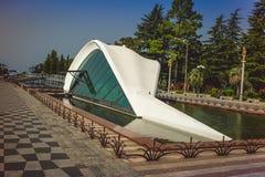 Batumi, Adjara, Georgia Zivilausrichtung auf Batumi-Boulevard Lizenzfreies Stockbild