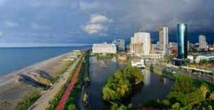 Batumi aerial view from viewpoint tower,Adzharia,Georgia Stock Photo