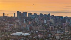 Batumi al tramonto VI Fotografia Stock Libera da Diritti