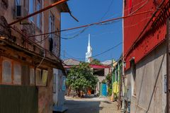 Batumi Alte Stadt Stockfoto