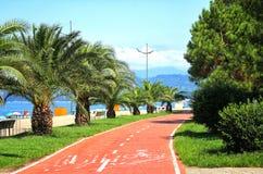 Batumi bulwar zdjęcie royalty free