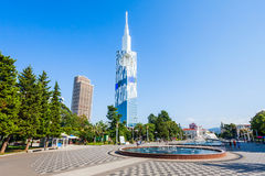 Batumi city centre royalty free stock photo