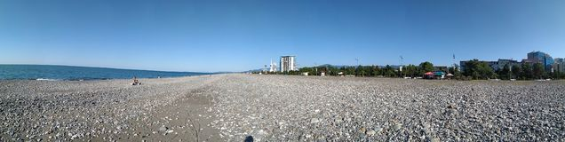 Batumi city Georgia, Adjara, Black Sea stock photo