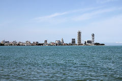 Batumi City View from beach, 02.06.2015 Royalty Free Stock Photography