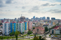 Batumi downtown cityscape, Georgia Stock Photo