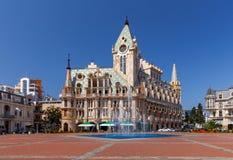 Batumi Europa kwadrat w ranku zdjęcia royalty free