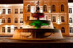 Batumi fountain Royalty Free Stock Photo