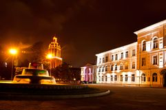 Batumi fyrkant Arkivfoton