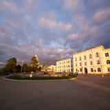 Batumi fyrkant med springbrunnen Royaltyfri Bild