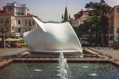Batumi GEORGIË - 21 september 2017: Burgerlijke Registratie op Batu stock afbeeldingen