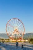Batumi, Georgia. Ferris Wheel at Black sea shore in Batumi, Georgia Royalty Free Stock Image