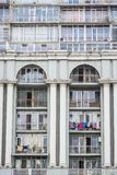 Batumi, Georgia - May 7, 2017. Architectonic complex Magnolia with apartments and restaurants. And shops royalty free stock images