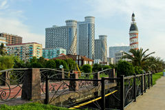 BATUMI, GEORGIA MAY 25, 2015. View of Europe Square. Stock Images