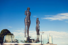 BATUMI, GEORGIA.  Moving sculpture Royalty Free Stock Photos