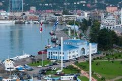 Batumi hamnstad Arkivbild