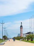Batumi kaj, Georgia Royaltyfri Bild