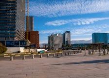 BATUMI, la GÉORGIE 12 janvier 2019 : Architecture moderne à Batumi, la Géorgie photos stock