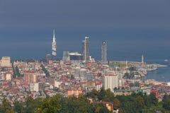 Batumi lotniczy widok miasta zdjęcia royalty free