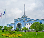 Batumi Marine Station Royaltyfria Foton