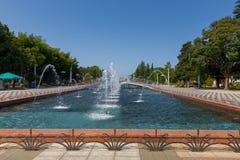 Batumi Miasto bulwar zdjęcie stock