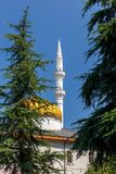 Batumi. Mosque of Orta Jame. Minaret of the mosque of Orta Jame on a sunny day. Batumi. Georgia. Adjara Stock Photo