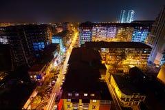 Batumi nachts Lizenzfreies Stockfoto