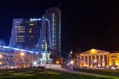 Batumi in night Stock Image