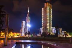 Batumi in night Royalty Free Stock Images