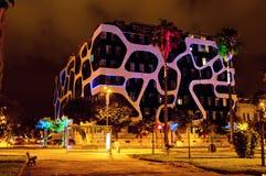 Batumi at night Royalty Free Stock Image