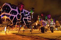 Batumi at night Royalty Free Stock Images
