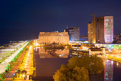 Batumi quayside Stock Photo