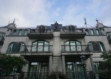 Batumi Residential Building stock photos