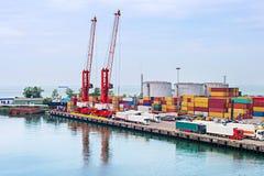Batumi sea port, Georgia Royalty Free Stock Image