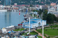 Batumi seaport Stock Photography