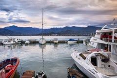Batumi-Seehafen Stockfotografie